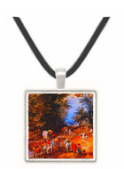 Road in the Woods - Jamial Tavarikh -  Museum Exhibit Pendant - Museum Company Photo