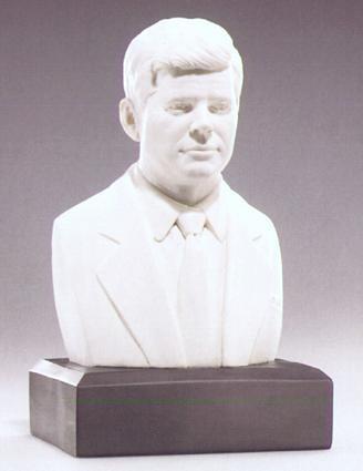 U.S. President John Fitzgerald Kennedy Bust - Photo Museum Store Company