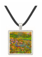 Rose Garden by Renoir -  Museum Exhibit Pendant - Museum Company Photo