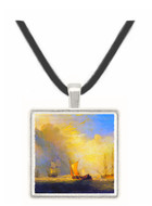 Rotterdam Ferry Boats by Joseph Mallord Turner -  Museum Exhibit Pendant - Museum Company Photo