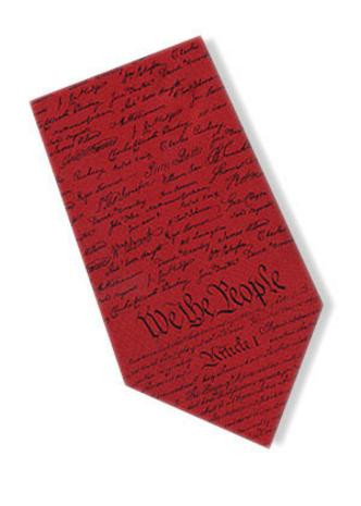 Museum Designs Constitution Necktie : Ties, Neckware & Historic Appearal - Photo Museum Store Company