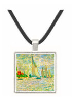 Sailboats, regatta in Argenteuil by Monet -  Museum Exhibit Pendant - Museum Company Photo