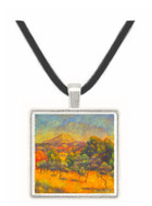 Sainte Vicoria Mountain by Renoir -  Museum Exhibit Pendant - Museum Company Photo