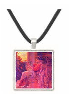 Sapho by Klimt -  Museum Exhibit Pendant - Museum Company Photo