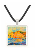 Sea and Cliffs by Renoir -  Museum Exhibit Pendant - Museum Company Photo