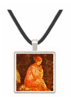 Seated Woman - National Museum - Naples -  -  Museum Exhibit Pendant - Museum Company Photo