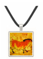 Second Chinese Horse - Lascaux - Dordogne - France -  -  Museum Exhibit Pendant - Museum Company Photo