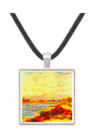 Seine in Argenteuil by Renoir -  Museum Exhibit Pendant - Museum Company Photo
