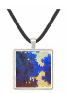 Seine in Morning #2 by Monet -  Museum Exhibit Pendant - Museum Company Photo