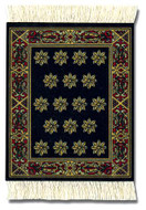 Country Heritage Stars Coaster Rug Set: International - Travel CoasterRugs - Photo Museum Store Company