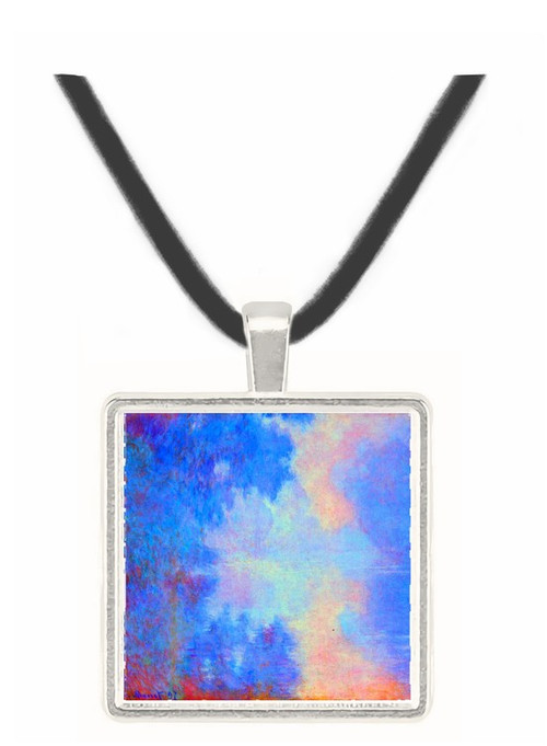 Seine in Morning by Monet -  Museum Exhibit Pendant - Museum Company Photo