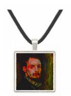 Self Portrait # 2 by Renoir -  Museum Exhibit Pendant - Museum Company Photo