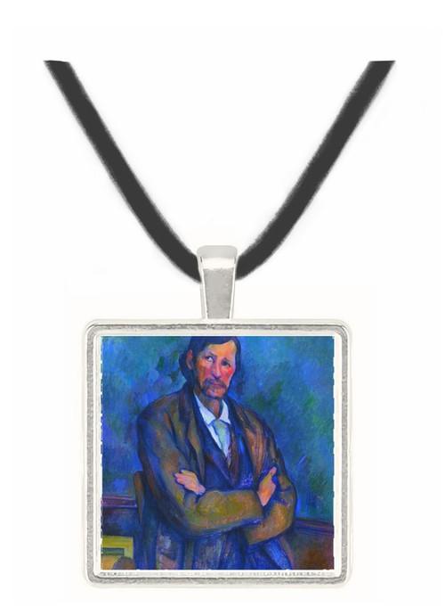 Self Portrait by Cezanne -  Museum Exhibit Pendant - Museum Company Photo