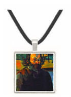 Self Portrait of Cezanne by Cezanne -  Museum Exhibit Pendant - Museum Company Photo