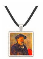 Self Portrait with Beret by Cezanne -  Museum Exhibit Pendant - Museum Company Photo