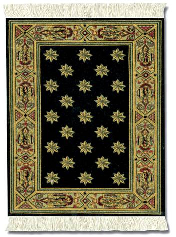 Country Heritage Stars Miniature Rug & Mouse Pad: International - Travel MouseRug - Photo Museum Store Company