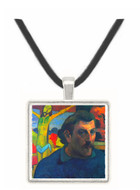Self Portrait with Yellow Christ by Gauguin -  Museum Exhibit Pendant - Museum Company Photo