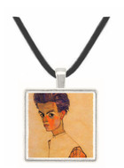 Self-Portrait by Egon Schiele -  Museum Exhibit Pendant - Museum Company Photo