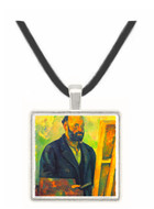Self-portrait with Pallette by Cezanne -  Museum Exhibit Pendant - Museum Company Photo