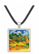 Shelters in Cordeville by Van Gogh -  Museum Exhibit Pendant - Museum Company Photo