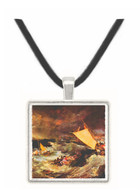 Shipwreck by Joseph Mallord Turner -  Museum Exhibit Pendant - Museum Company Photo