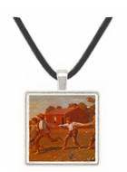 Snap the Whip - Winslow Homer -  Museum Exhibit Pendant - Museum Company Photo