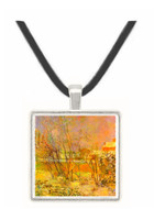 Snow in Rue Carcel by Gauguin -  Museum Exhibit Pendant - Museum Company Photo