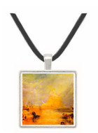 St. Michaels Mount, Cornwall by Joseph Mallord Turner -  Museum Exhibit Pendant - Museum Company Photo