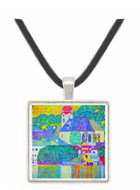 St. Wolfgang Church by Klimt -  Museum Exhibit Pendant - Museum Company Photo