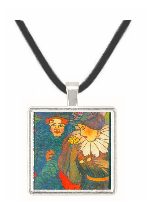 Stained Glass Design by Felix Vallotton -  Museum Exhibit Pendant - Museum Company Photo