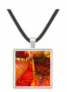 Stairs in Algier by Renoir -  Museum Exhibit Pendant - Museum Company Photo