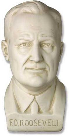 Franklin D. Roosevelt Bust - Photo Museum Store Company