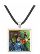Still life with Eggplant by Cezanne -  Museum Exhibit Pendant - Museum Company Photo