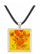 Still life with sunflowers by Van Gogh -  Museum Exhibit Pendant - Museum Company Photo
