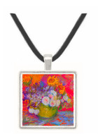 Still-life with roses and sunflowers by Van Gogh -  Museum Exhibit Pendant - Museum Company Photo