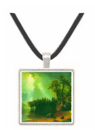 Storm over the Sierra Nevada by Bierstadt -  Museum Exhibit Pendant - Museum Company Photo