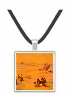 Stormy Sea - Jan Brueghel -  Museum Exhibit Pendant - Museum Company Photo
