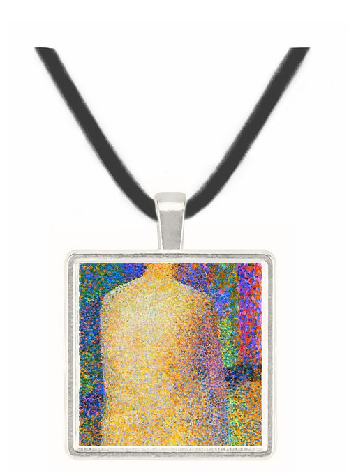 Study of a model 2 by Seurat -  Museum Exhibit Pendant - Museum Company Photo
