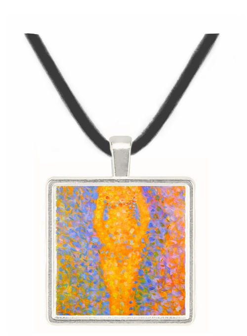 Study of a model by Seurat -  Museum Exhibit Pendant - Museum Company Photo