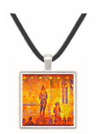 Study of the circus parade by Seurat -  Museum Exhibit Pendant - Museum Company Photo