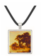 Summer Afternoon - Asher Brown Durand -  Museum Exhibit Pendant - Museum Company Photo