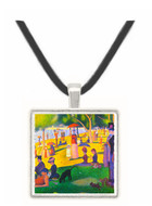 Sunday at La Grande Jatte by Seurat -  Museum Exhibit Pendant - Museum Company Photo