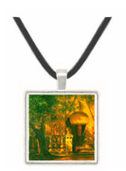 Sunlight and Shadow 2 by Bierstadt -  Museum Exhibit Pendant - Museum Company Photo