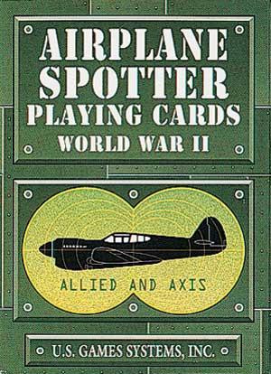 World War II Airplane Spotter Playing Cards - Photo Museum Store Company