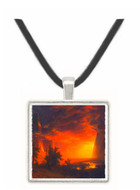 Sunrise in Yosemite Valley by Bierstadt -  Museum Exhibit Pendant - Museum Company Photo