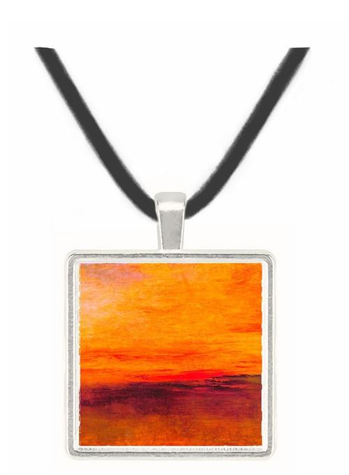 Sunset by Joseph Mallord Turner -  Museum Exhibit Pendant - Museum Company Photo