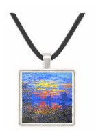 Sunset on the Seine by Monet -  Museum Exhibit Pendant - Museum Company Photo