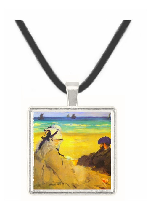 Sur_la_plage_1873 by Manet -  Museum Exhibit Pendant - Museum Company Photo