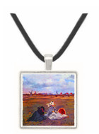 Swallows by Manet -  Museum Exhibit Pendant - Museum Company Photo