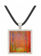 Tannenwald I by Klimt -  Museum Exhibit Pendant - Museum Company Photo